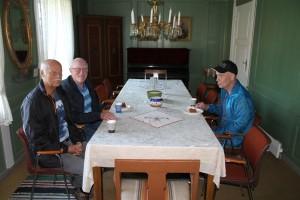 Jørn Ove Sæther, Steinar Søgnen og Egil Lønnum
